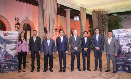 ANUNCIA GOBERNADOR OMAR FAYAD DOS NUEVAS  INVERSIONES POR 4,000 MILLONES DE PESOS