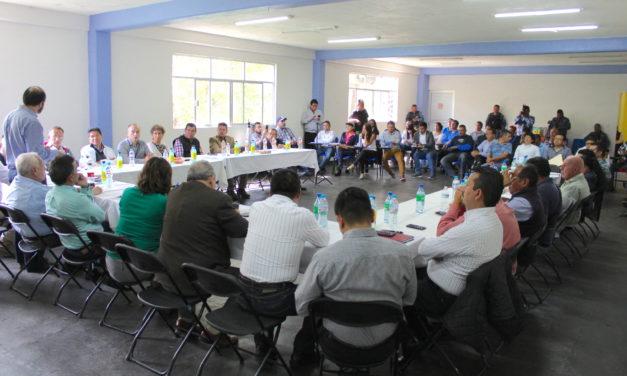 Se reúnen empresarios, autoridades y sociedad civil para fortalecer estrategias en favor de la seguridad.
