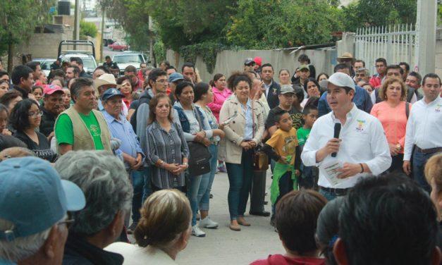 Entregan obras por 14 mdp en San Pedro Alpuyeca y Tultengo en Tula